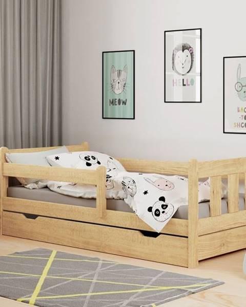 Prírodná posteľ Halmar