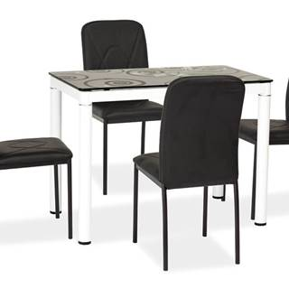 Damar jedálenský stôl biela