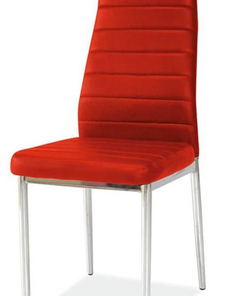Červená stolička Signal