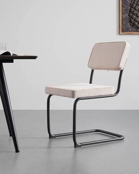 Béžová stolička Möbelix