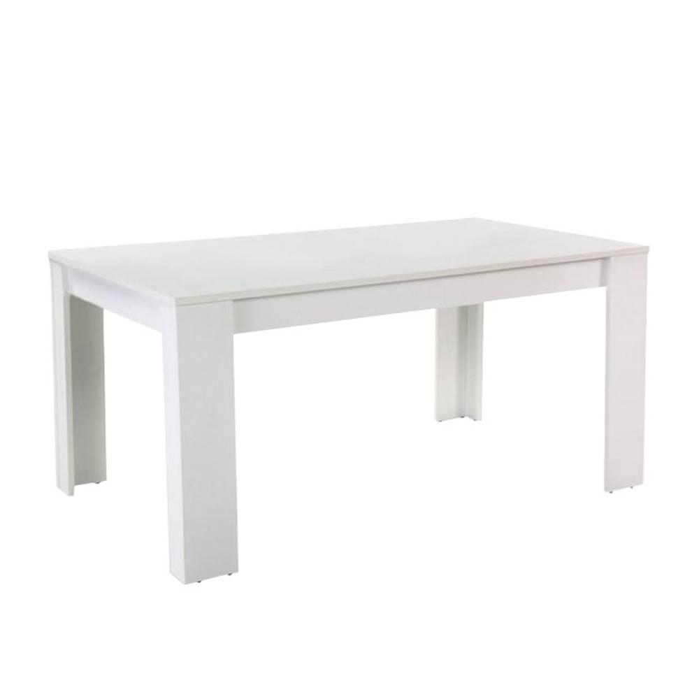 Tempo Kondela Jedálenský stôl biela 140 TOMY NEW