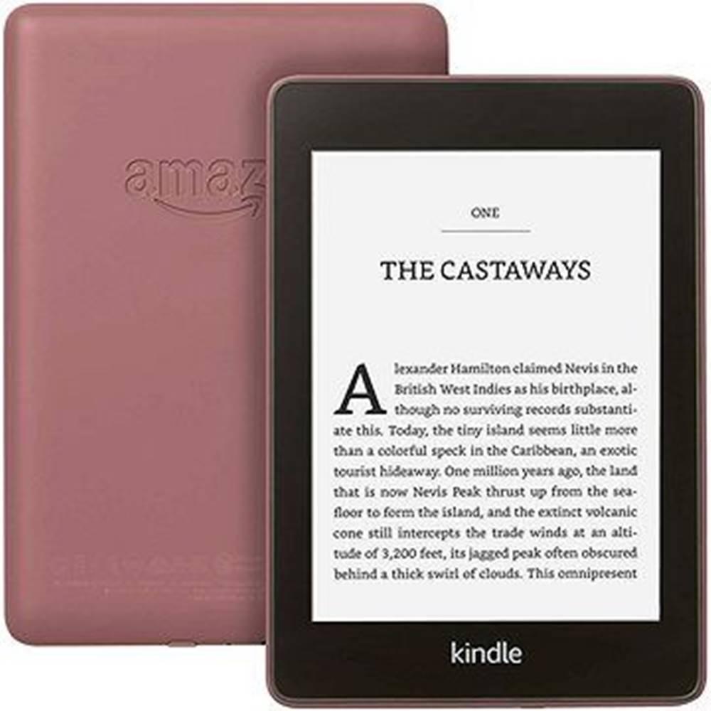 Amazon Čítačka Amazon KINDLE Paperwhite 4 2018, slivka, s reklamou