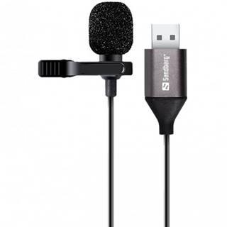 Mikrofón Sandberg Streamer Clip