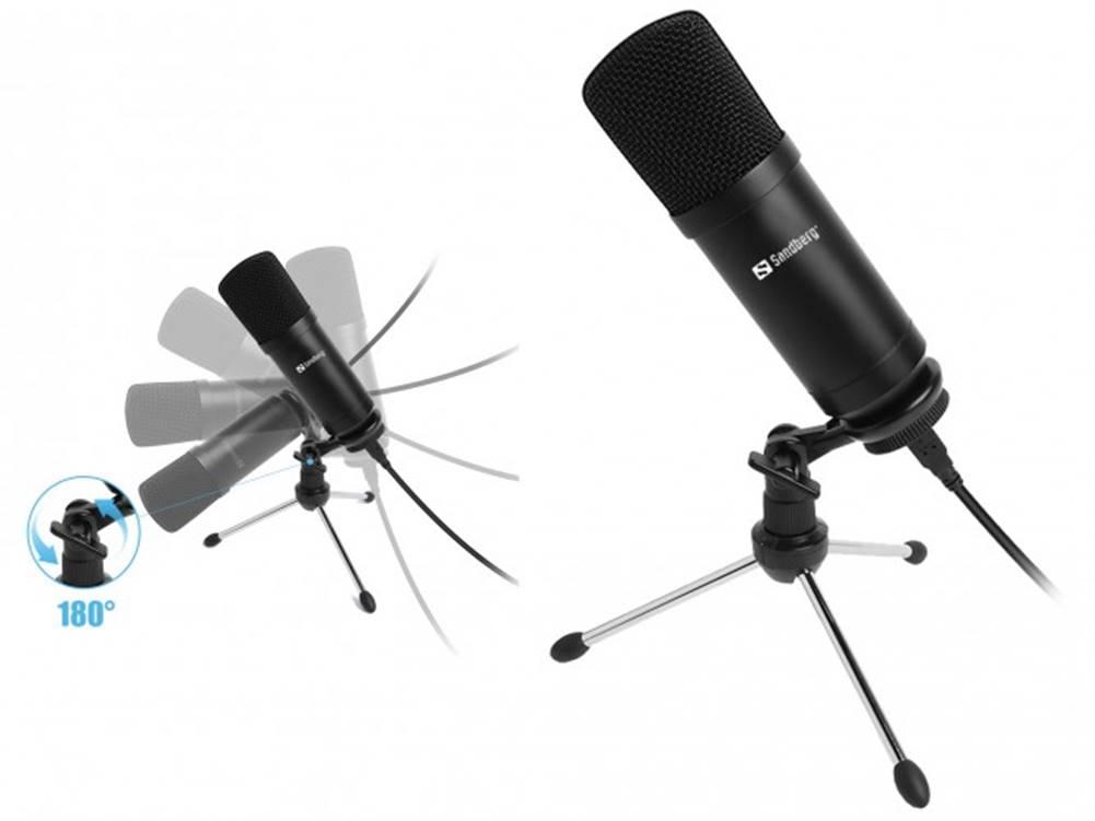 Sandberg Mikrofón Sandberg Streamer, černý
