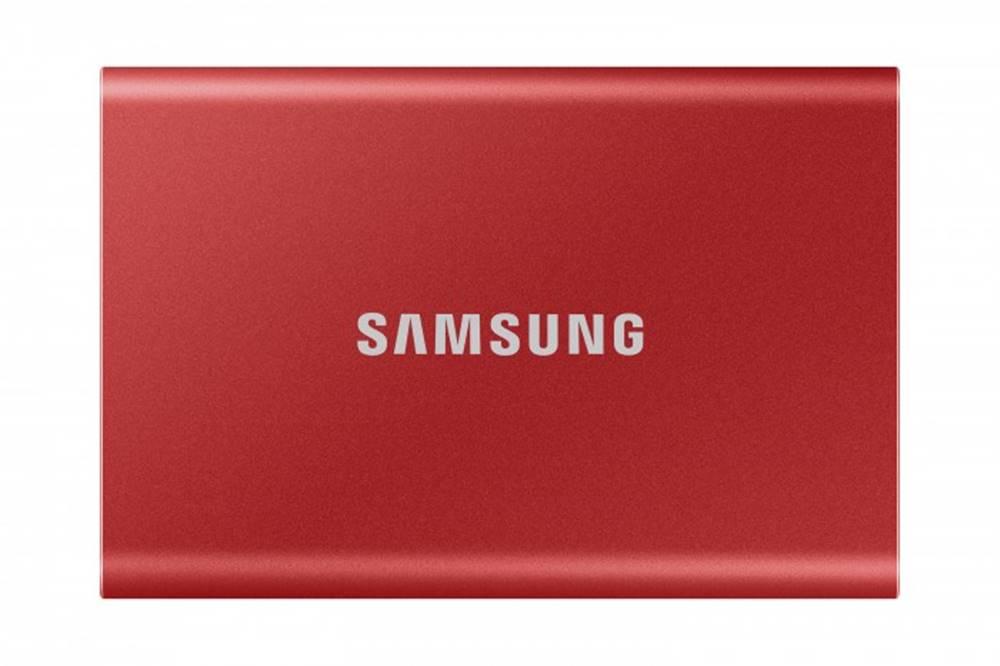 Samsung Externý SSD disk Samsung - 1TB - červený