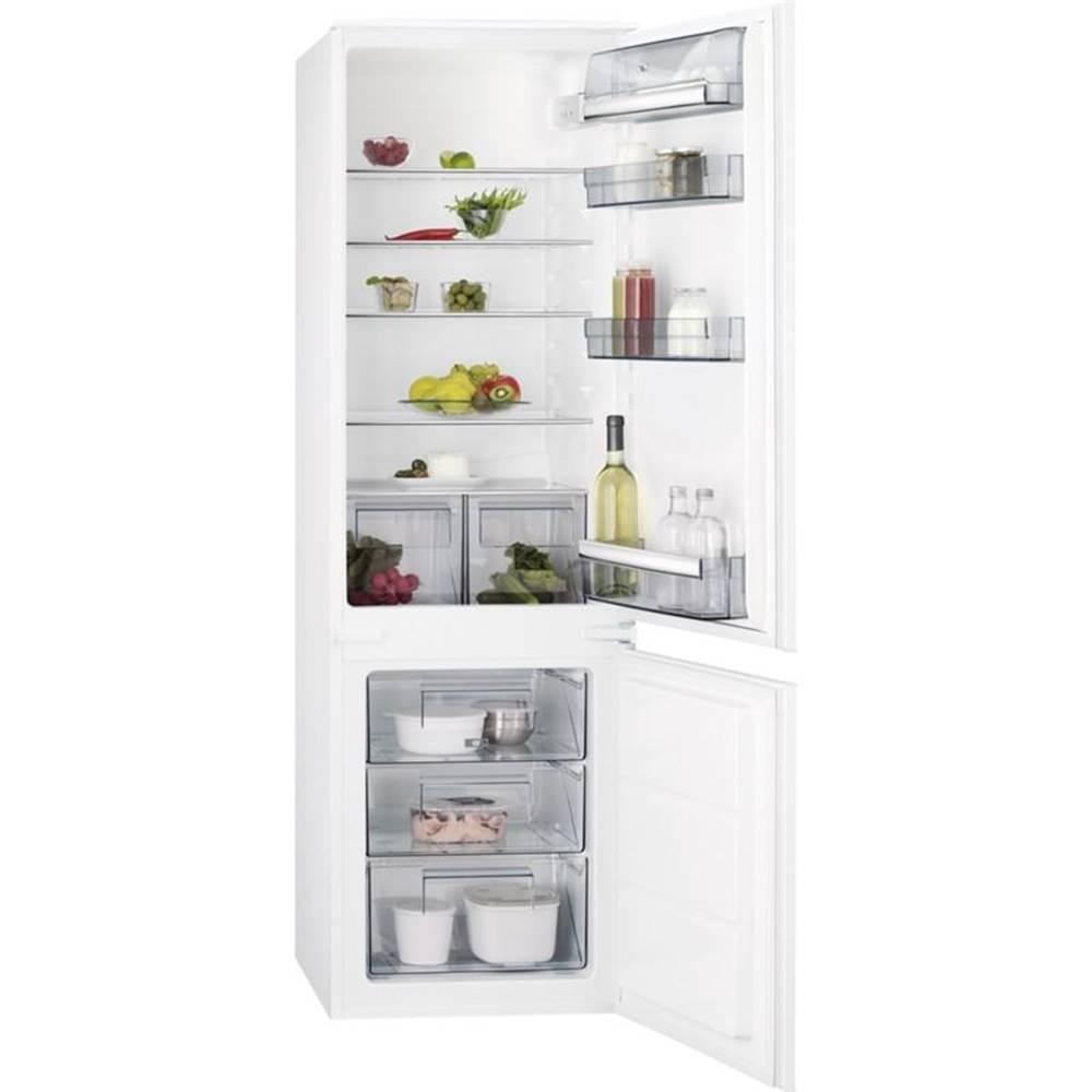 AEG Kombinácia chladničky s mrazničkou AEG Scb618f3ls