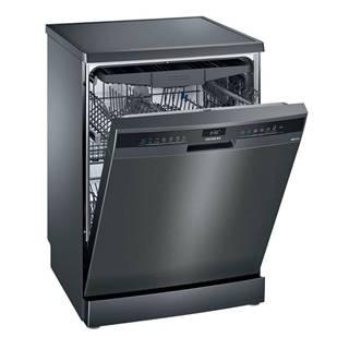 Umývačka riadu Siemens iQ300 Sn23ec14ce čierna