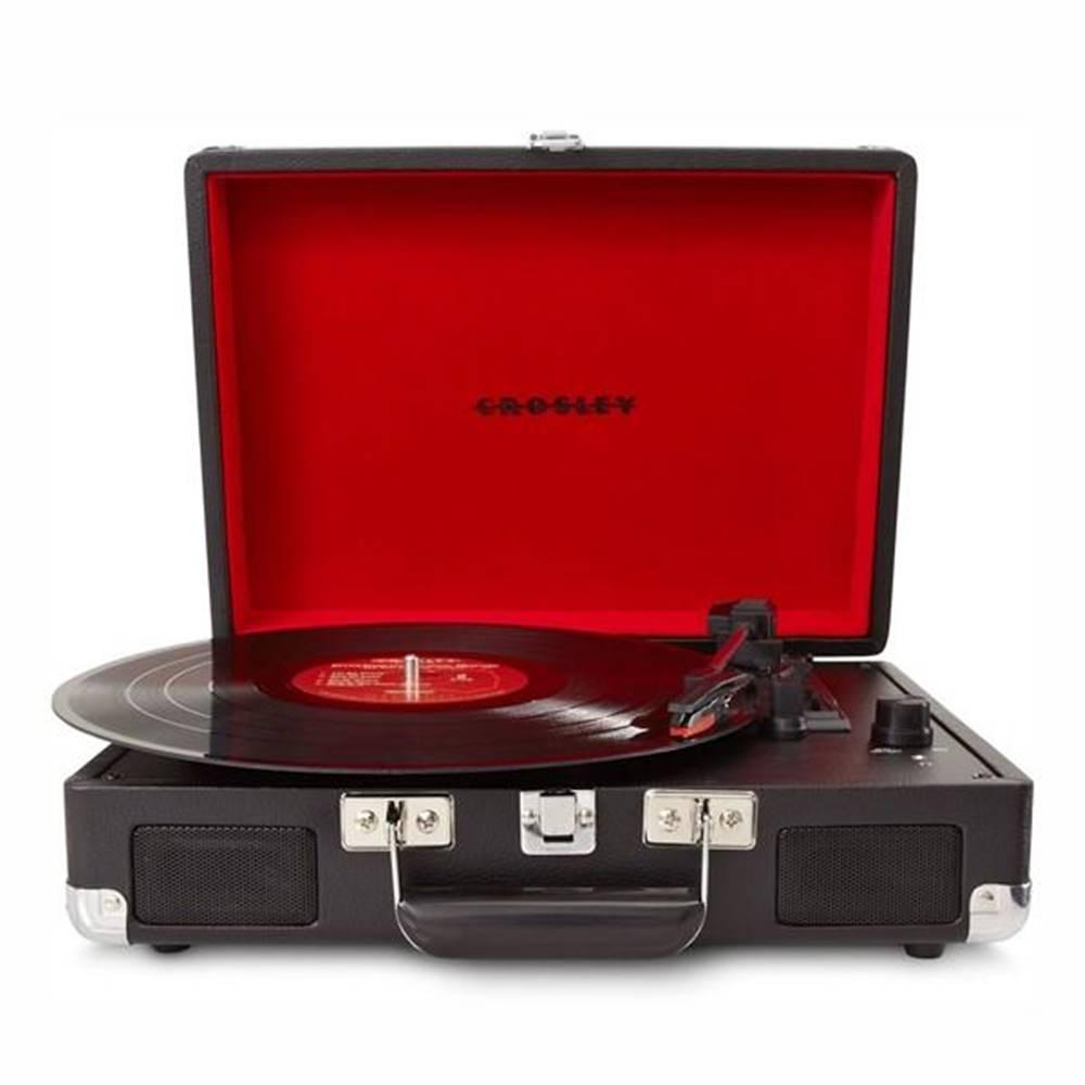 Crosley Gramofón Crosley Cruiser Deluxe čierny