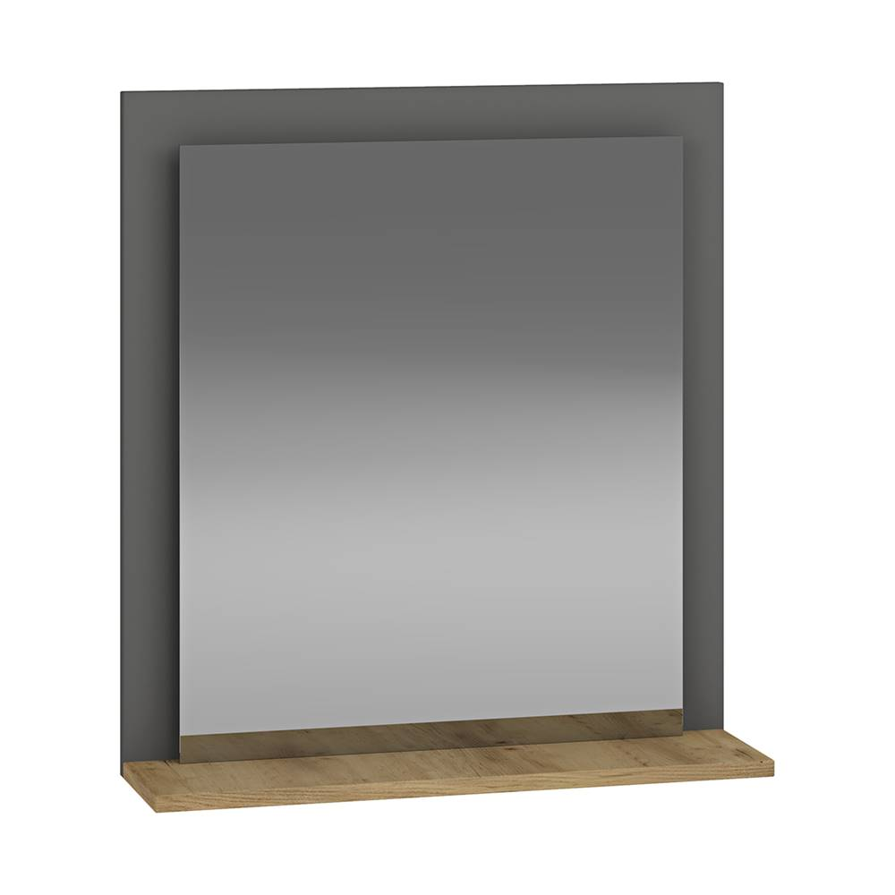 NABBI Baleta Z60 zrkadlo na stenu antracit