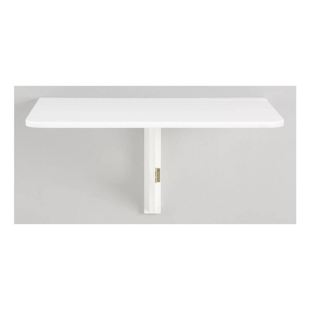 Støraa Biely skladací stôl na stenu Støraa Trento, 41×80cm