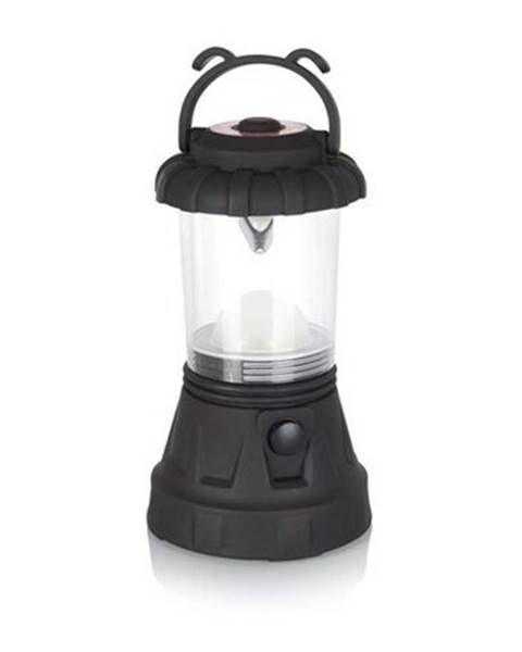 Čierna lampa Banquet