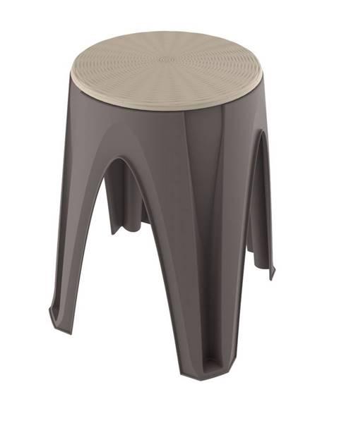 Hnedá stolička Spaas