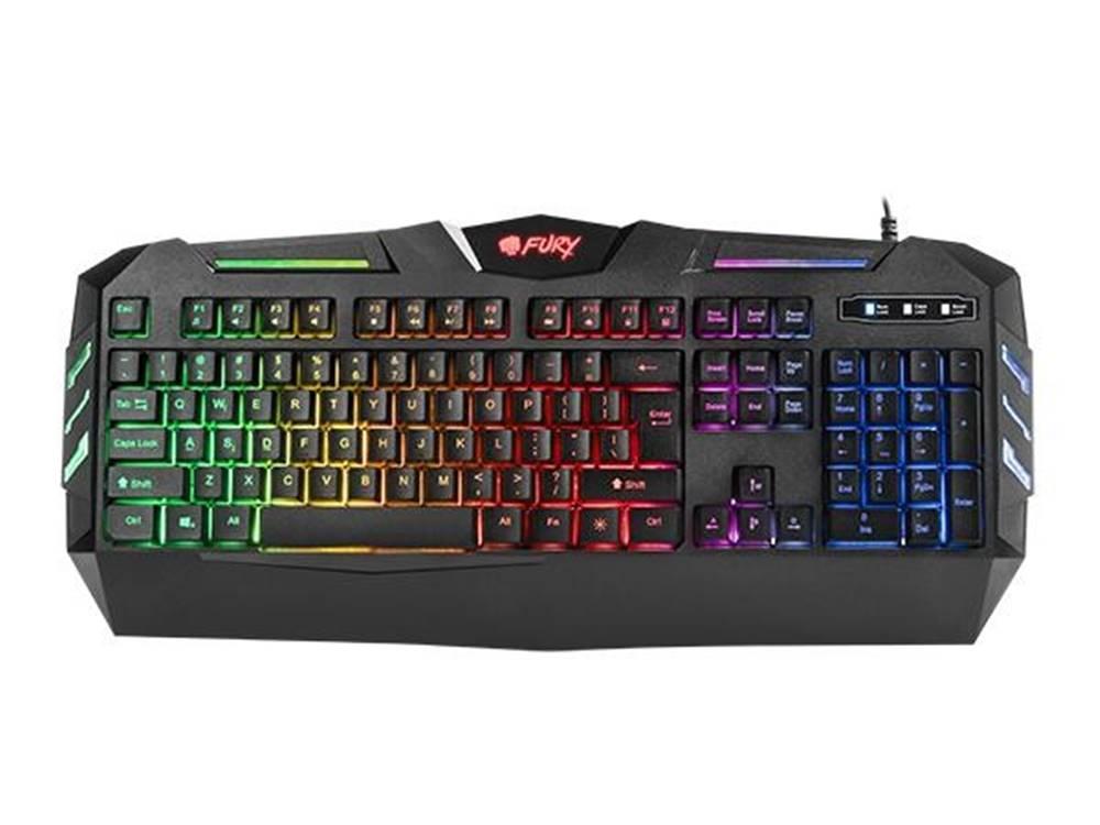 Fury Herná klávesnica FURY Spitfare backlight, US layout, čierna