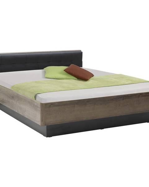 Čierna posteľ Carryhome