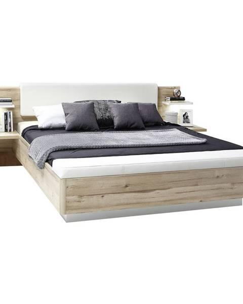 Biela posteľ Ti`me