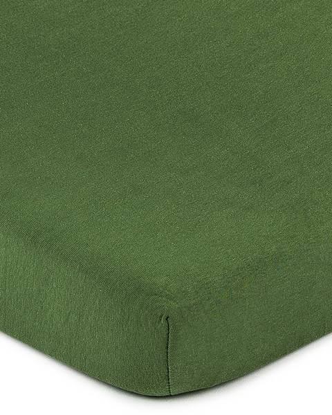 Zelené prestieradlo 4Home