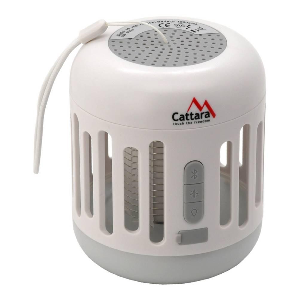 Cattara Cattara Nabíjacie bluetooth svietidlo s lapačom hmyzu Music cage, 60 lm