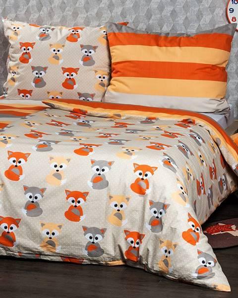 Oranžová bielizeň 4Home