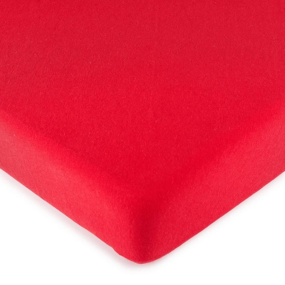 4Home 4Home jersey prestieradlo červená, 180 x 200 cm