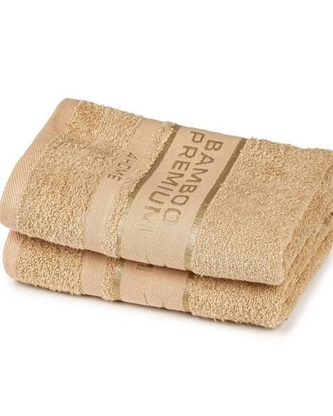 Béžový uterák 4Home