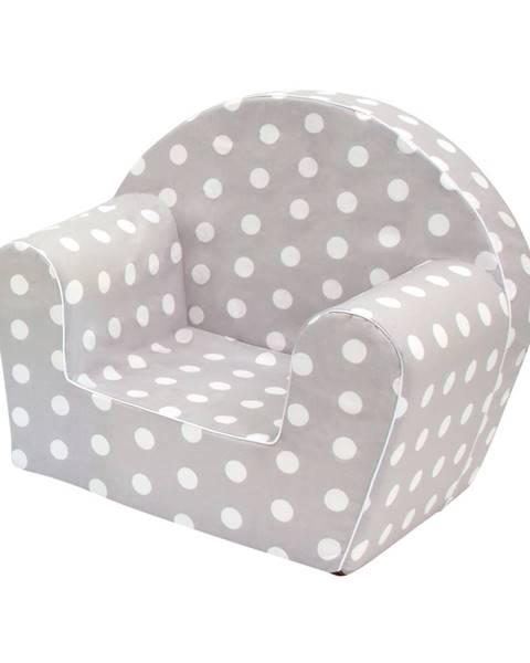 Sivý detský nábytok Bino