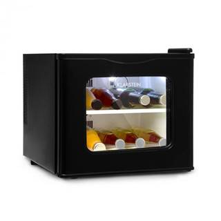 Klarstein Winehouse, minibar, 17 l, 60W, trieda A++, 38dB, sklenené dvierka, čierny