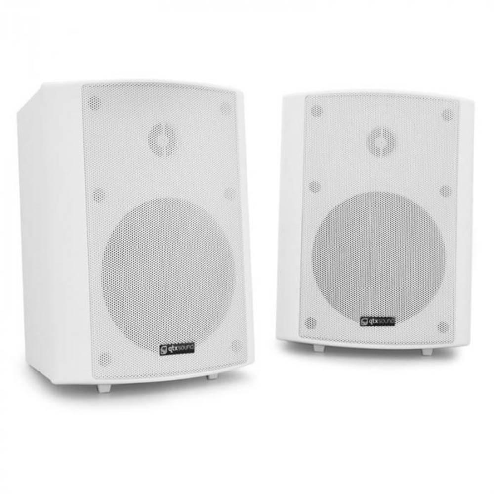 QTX Dvojica nástenných reproduktorov QTX BC5A, 30 W RMS, biele