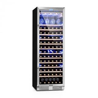 Klarstein Vinovilla Grande, veľkoobjemová vinotéka, chladnička, 425l, 165 fl., 3-farebné LED osvetlenie