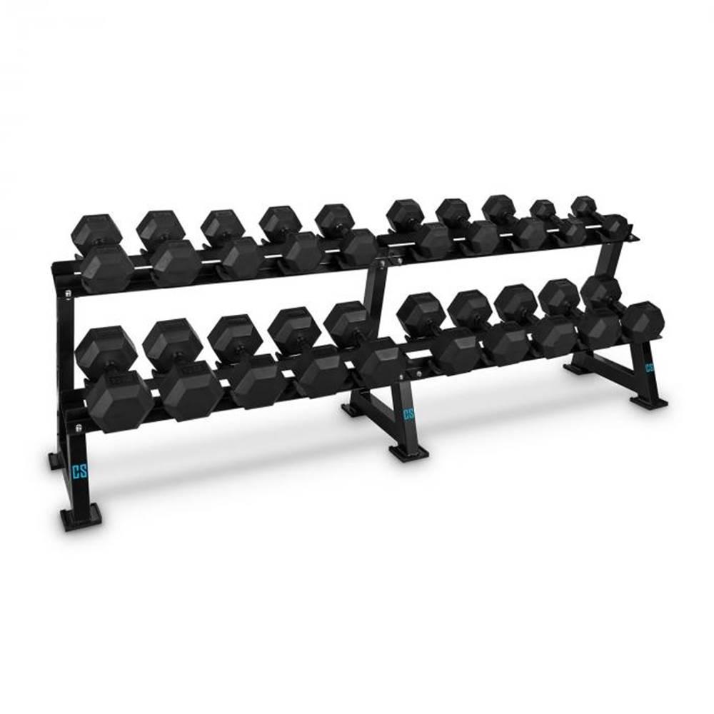 Capital Sports Capital Sports Dumbbell Rack Set, stojan na činky, sada, 20 miest, 10 x pár činiek