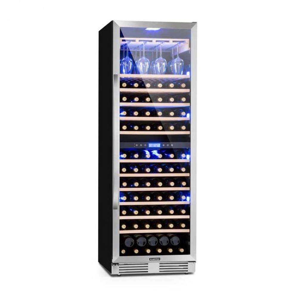 Klarstein Klarstein Vinovilla Grande Duo, veľkoobjemová vinotéka, chladnička, 425l, 165 fl., 3-farebné LED osvetlenie