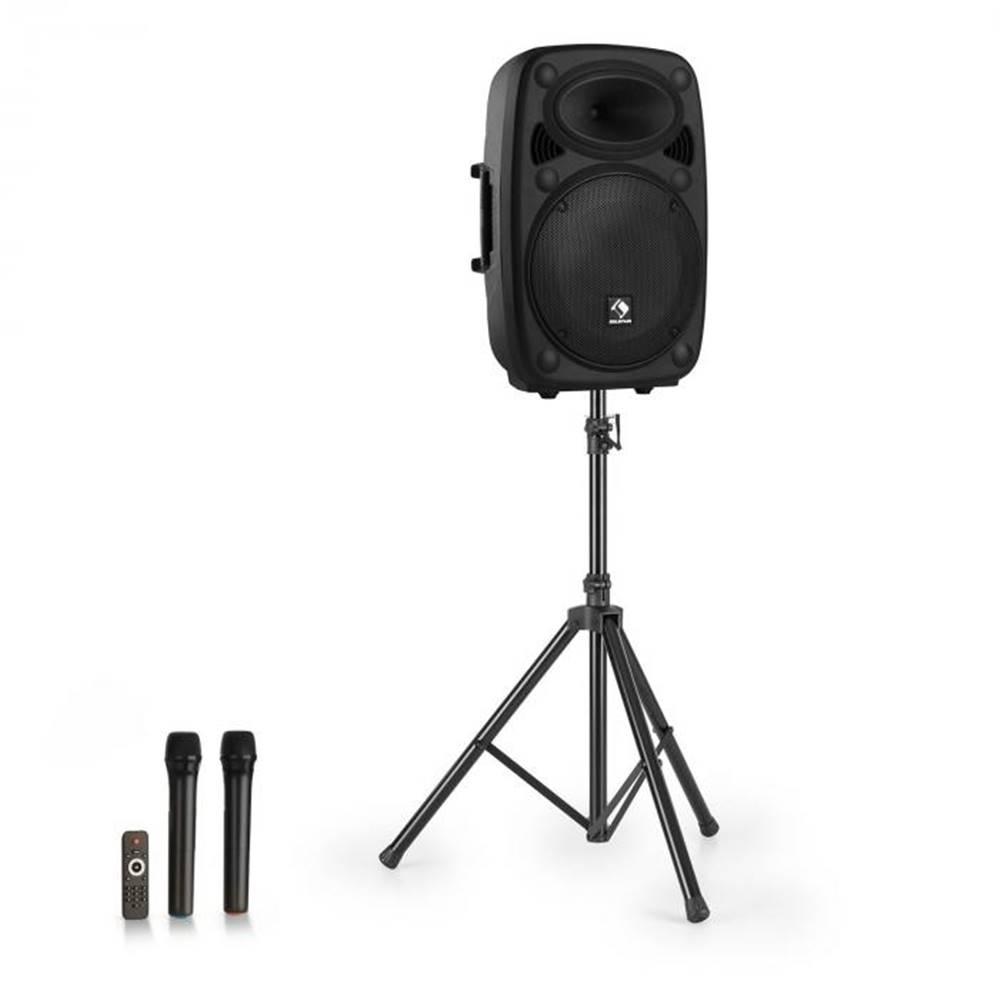 """Auna Auna Streetstar 15, mobilný PA systém + statív, 15"""" woofer, UHF mikrofón, 1000 W, čierny"""