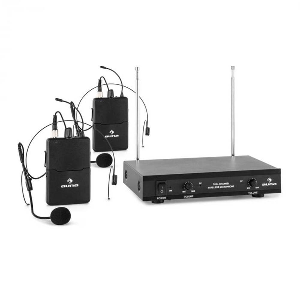 Auna Pro VHF-2-HS 2-kanálov...