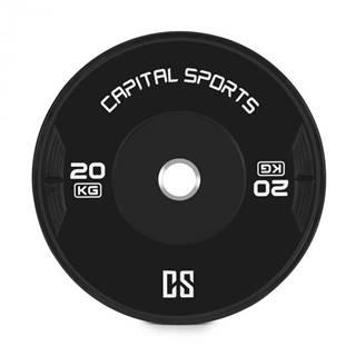 Capital Sports Elongate 20 Bumper Plate, kotúč, závažie, guma, 2x 20kg