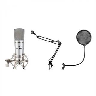 Auna MIC-920, USB, mikrofónový set, V4, mikrofón, otočné rameno, POP filter, ochranná taška