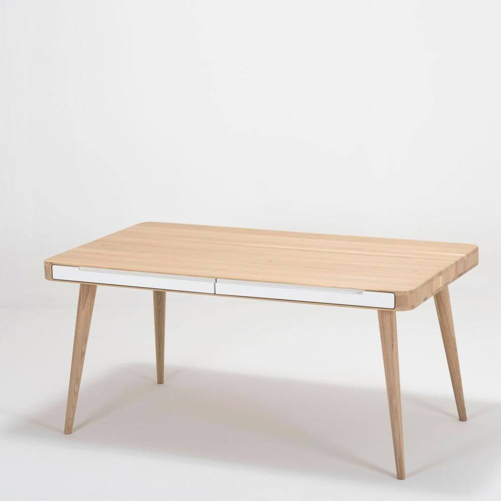 Gazzda Jedálenský stôl z dubového dreva Gazzda Ena Two, 140×90cm