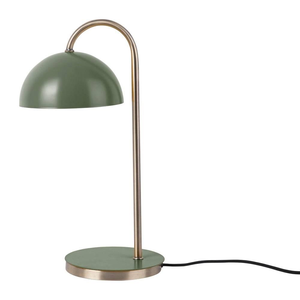 Leitmotiv Stolová lampa v matnej zelenej farbe Leitmotiv Decova