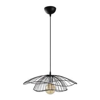 Čierne závesné svietidlo Opviq lights Tel, ø 50 cm