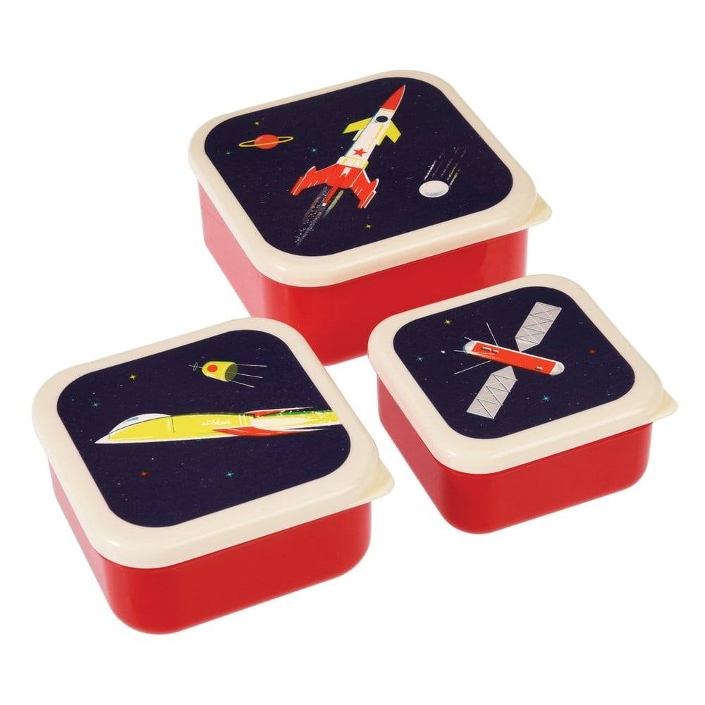Rex London Sada 3 desiatových boxov Rex London Space Age