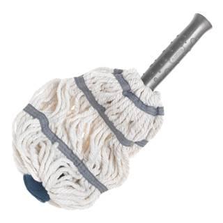 Bielo-sivá hlavica na mop z mikrovlákna Addis Twist