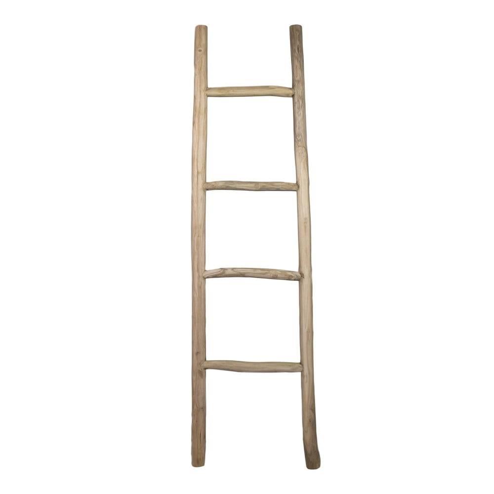 HSM collection Dekoratívny rebrík z teakového dreva HSM collection Fallo