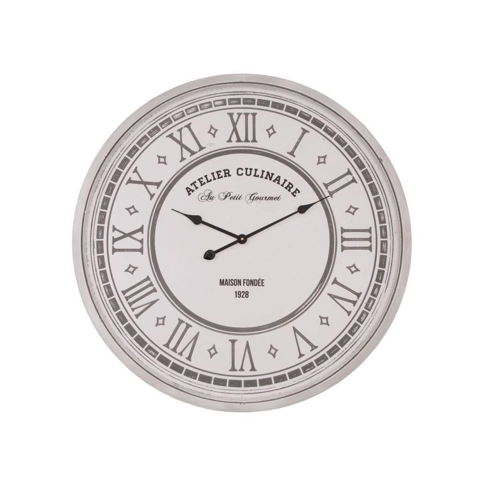 Antic Line Nástenné hodiny Antic Line Atelier Culinaire, ⌀ 80 cm