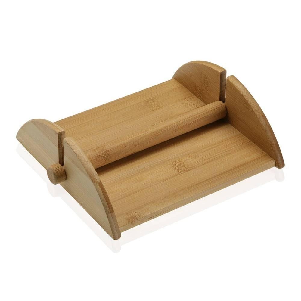 Versa Bambusový stojan na papierové obrúsky Versa Bambú
