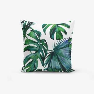 Obliečka na vankúš s prímesou bavlny Minimalist Cushion Covers Exotic, 45×45cm