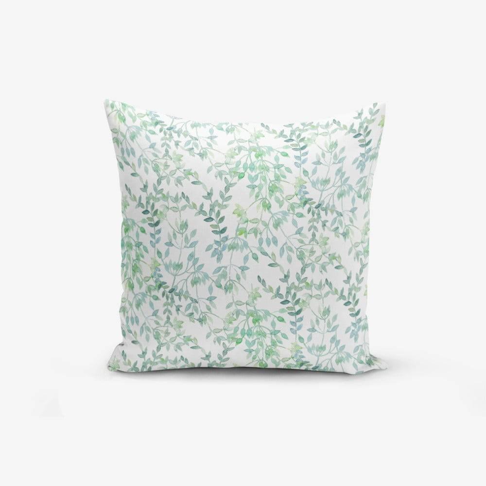 Minimalist Cushion Covers Obliečka na vankúš Minimalist Cushion Covers Modern Leaf, 45 × 45 cm