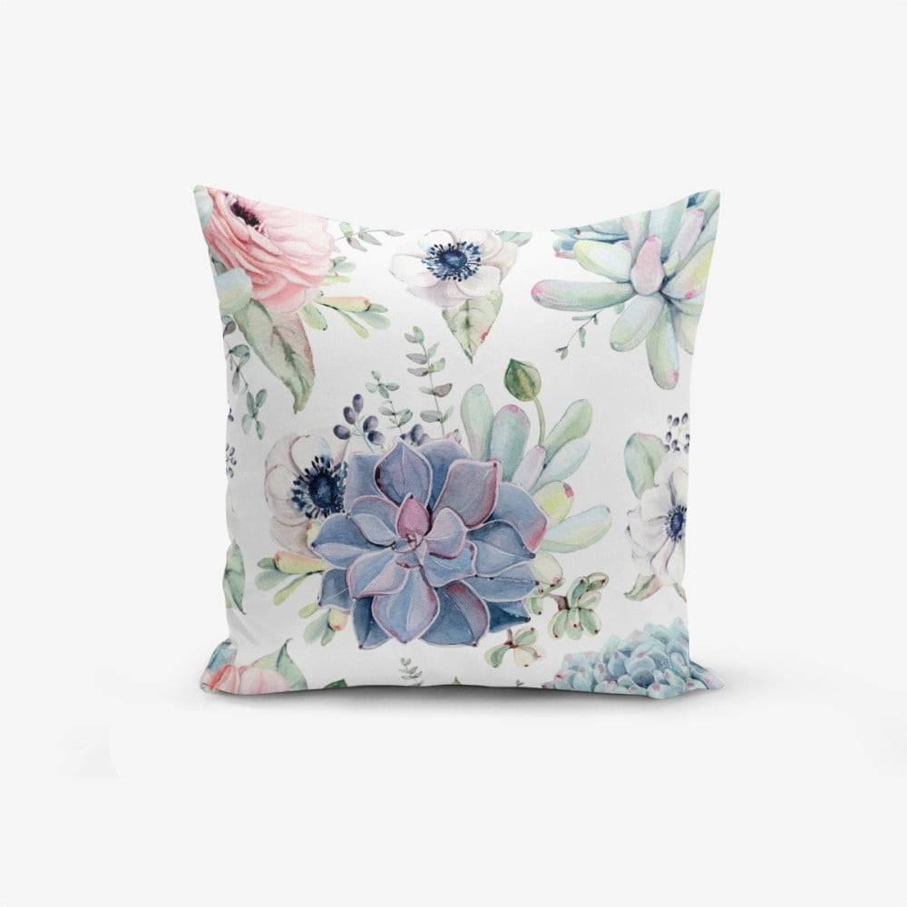Minimalist Cushion Covers Obliečka na vankúš s prímesou bavlny Minimalist Cushion Covers Yagli, 45×45 cm
