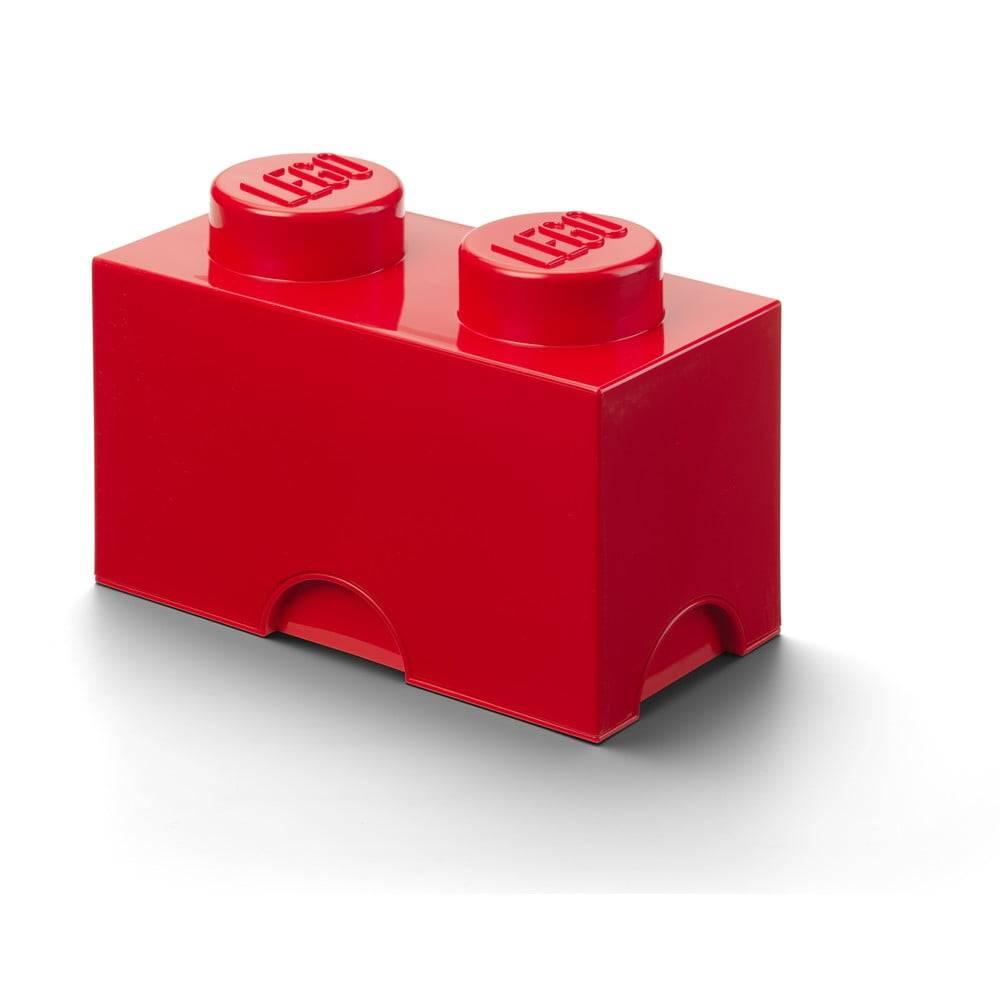 LEGO® Červený úložný dvojbox LEGO®