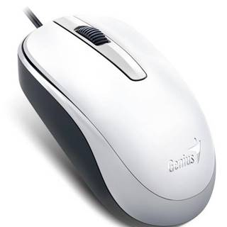 Myš  Genius DX-120 biela / optická / 3 tlačítka / 1200dpi