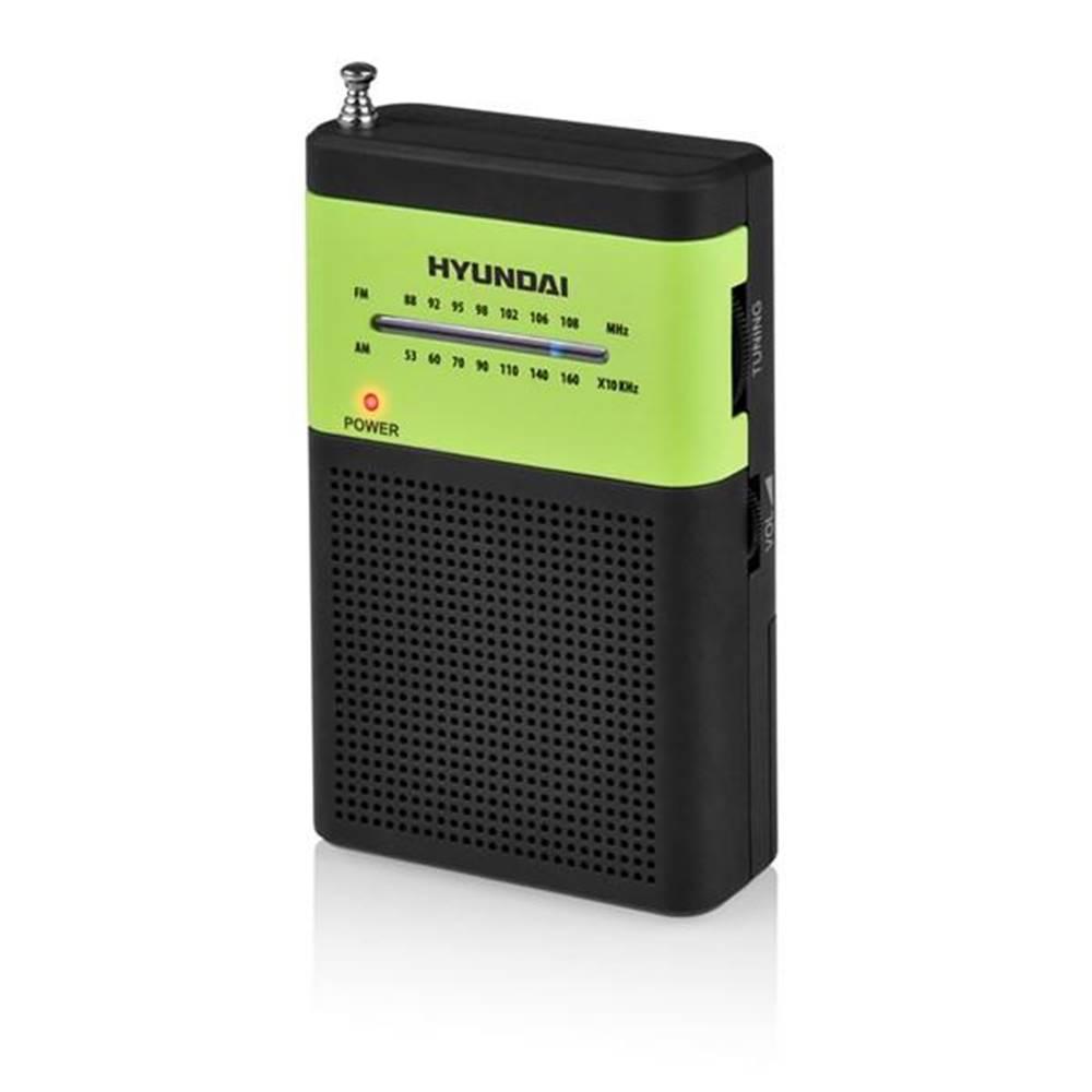 Hyundai Rádioprijímač Hyundai PPR 310 BG čierny/zelen