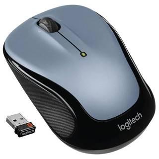 Myš  Logitech Wireless MoM325 strieborná / optická / 3 tlačítka