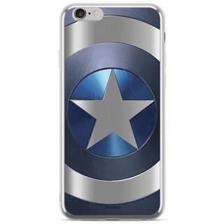 Kryt na mobil Marvel Captain America na Huawei P20 Lite strieborný